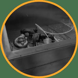 čištění turbodmychadla